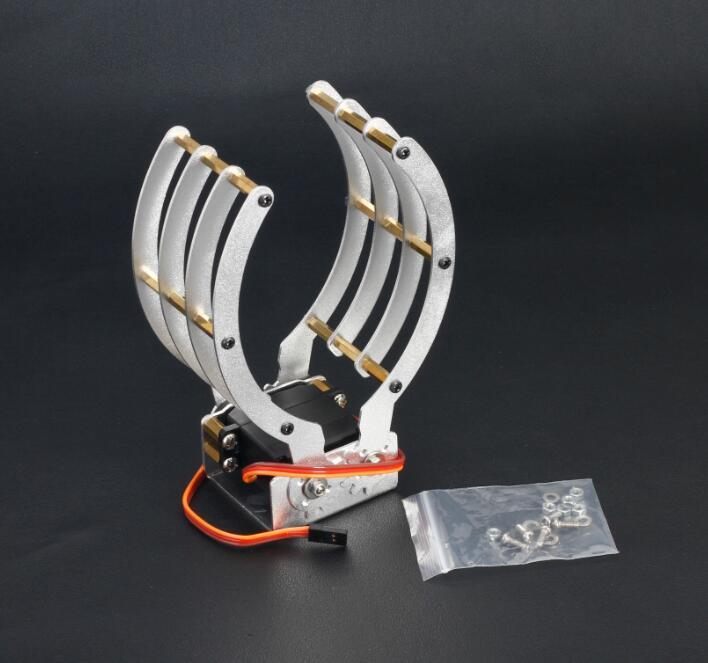 Arduino Robot Mechanical Aluminium Clamp Claw Grip