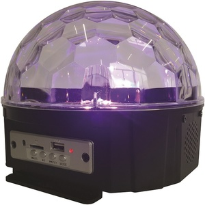 Rechargeable LED Dome Party Light with Bluetooth Speaker