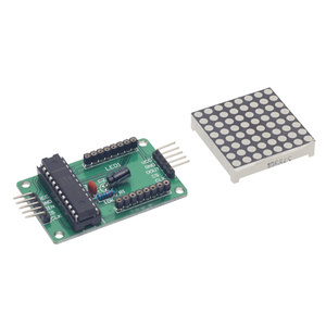 Arduino 8x8 RED LED Dot Matrix Module