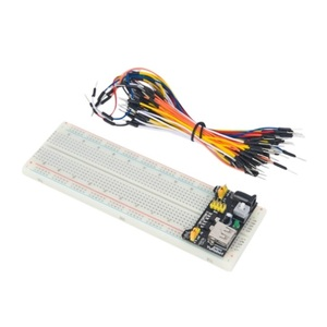 Arduino Solderless Breadboard with power supply and jumper lead kit