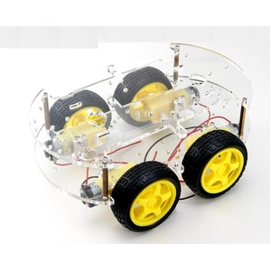 Arduino 4 Wheel Drive Motor Chassis Kit
