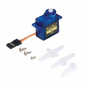 SG90 9G Micro Mini Servo with servo arms and accessories