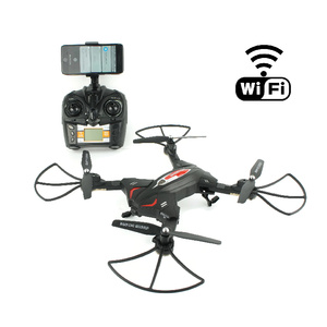 RC Folding Wi-Fi FPV Drone with 720p Camera Recorder TK110HW
