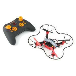 DIY Building Block RC Drone with Headless and Stunt Mode