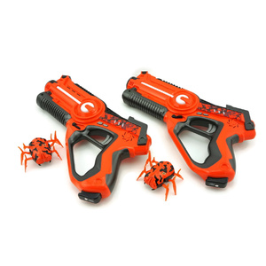 2 Player Laser Tag Gun with Robotic Alien Bugs set