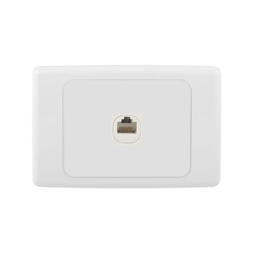 Wall Plate with RJ45 Socket for Ethernet connections