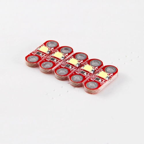 Arduino Lilypad 5 x Red LED Module