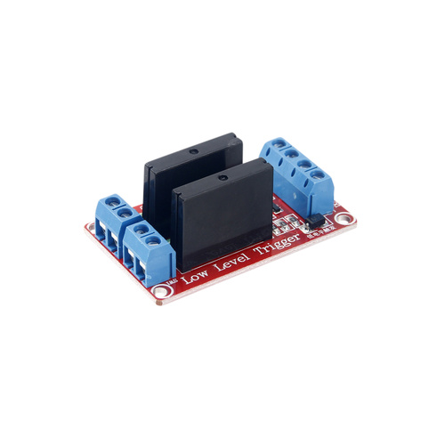 Double Pole/Channel Solid State Relay Module for Arudino