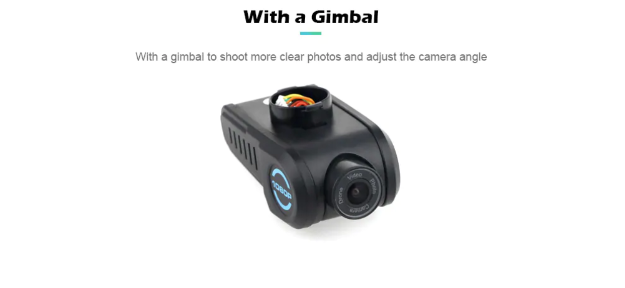 1080p Camera with adjustable tilt for optimal photo and video recording