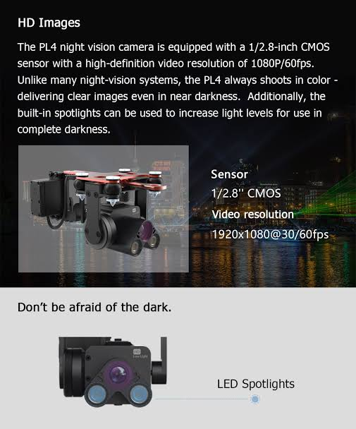PL4 Night camera