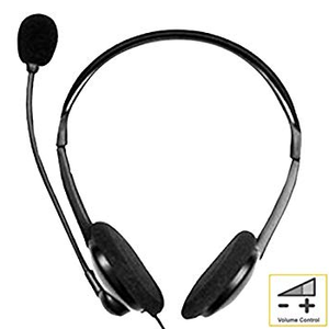 Stereo PC Headphones with Microphone