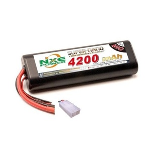 7.4V 4200mAh LiPo 2S Battery Pack with Tamiya Connector