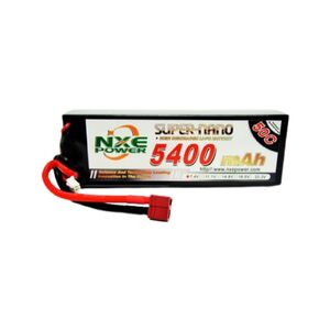 7.4V 5400mAh LiPo 2S Battery Pack with Deans Connector