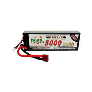 7.4V 5000mAh LiPo 2S Battery Pack with Deans Connector