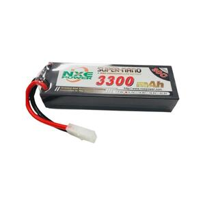 11.1V 3300mAh LiPo 30c Battery Pack with Tamiya Connector