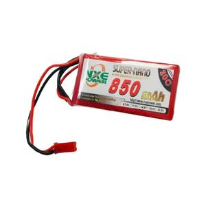 7.4V 850mAh LiPo 2S Battery Pack with JST Connector