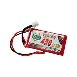 7.4V 450mAh LiPo 2S Battery Pack with JST Connector