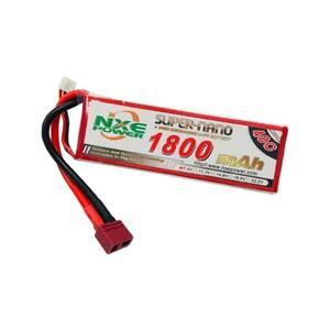 7.4V 1800mAh LiPo 2S Battery Pack with Deans Connector