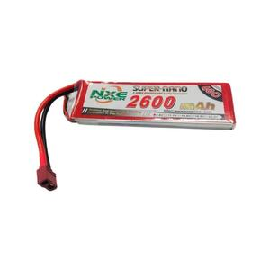 7.4V 2600mAh LiPo 2S Battery Pack with Deans Connector