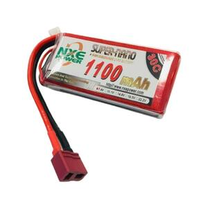 7.4V 1100mAh LiPo 2S Battery Pack with Deans Connector