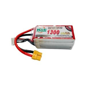 15.2V HV 1300mAh LiPo 4S Battery Pack with XT60 Connector