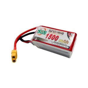 14.8V 1500mAh LiPo 4S Battery Pack with XT60 Connector