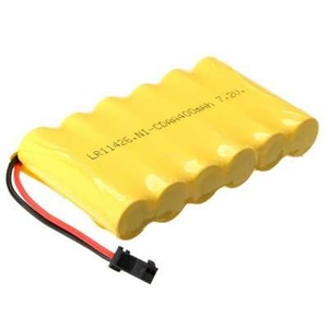 7.2V 400mAh Ni-Mh Battery Pack with SM 2 Pin Connector