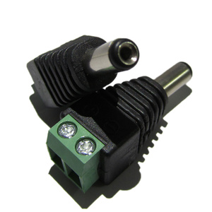2.1mm DC Plug with Terminal Block