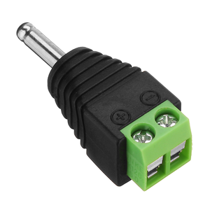 1.35mm DC Plug with Terminal Block