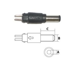 1.3mm Reversible DC Plug
