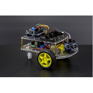 2 Wheel Drive Ultrasonic Arduino Robot Kit