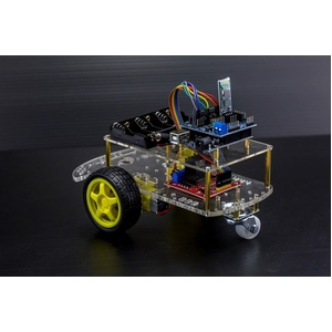 2 Wheel Drive Wireless Bluetooth Arduino Robot Kit