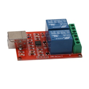 2 Channel USB Controlled 5V Relay Module for Arduino Projects