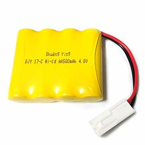 Rechargeable Ni-cd Battery 4.8V 500mAh for 2WD Monster truck