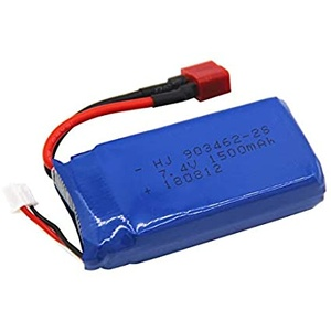 7.4V 1500mAh Li-ion Rechargeable Battery Pack