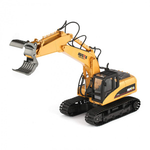 RC Excavator with Grapple 1:14 Construction Scale Model