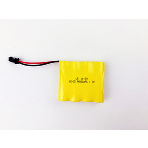 4.8V Rechargeable Ni-Cad 400mAh Battery Pack