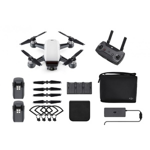 DJI Spark Quadcopter Drone - Alpine White Fly More Combo