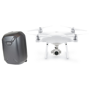 DJI Phantom 4 Pro FPV Drone with Hard Shell Back Pack