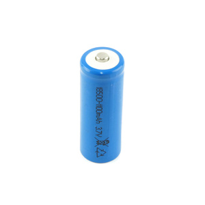 Pack of 2 Rechargeable Lithium 18500 Battery 3.7V 1100mAh