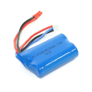 Rechargeable Lithium Battery 7.4V 850mAh for WL911 Mini Racing Boat