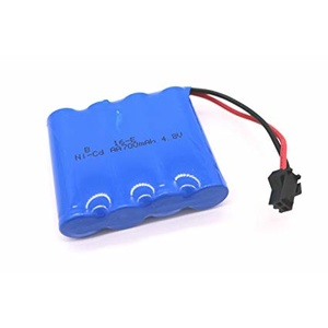 Rechargeable 4.8V 700mAh NiCd battery for Rock Climber truck