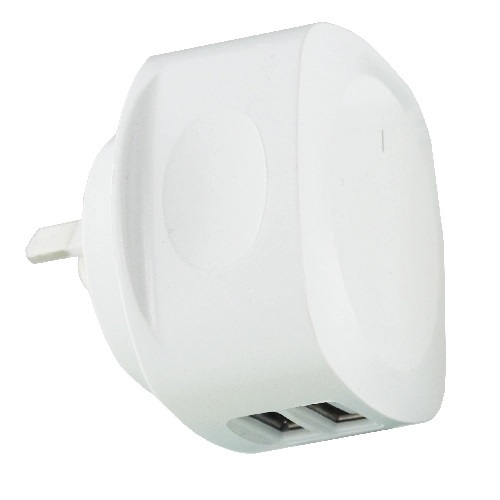 3.4A Dual USB Port Mains Charger