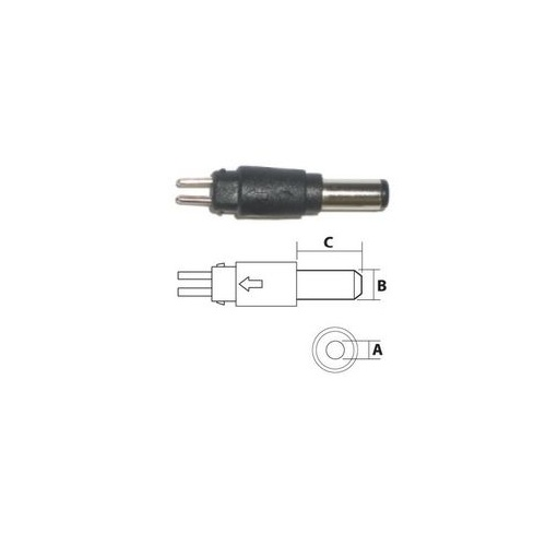 2.5mm Reversible DC Plug