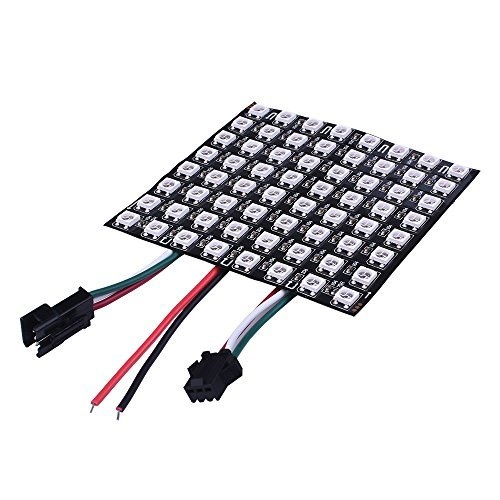 Flexible 8 x 8 RGB LED Matrix Display