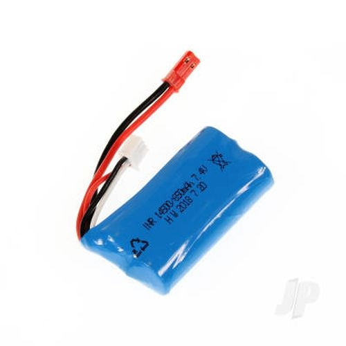 7.4V 650mAh Lithium Rechargeable Battery Pack for HBX 1:18th RC