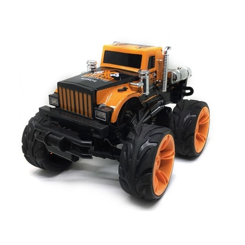RC Stunt Truck with LED Lights and Sound Effects