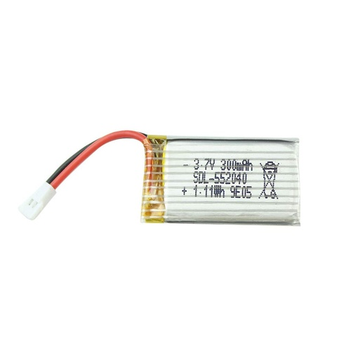 Rechargeable Lithium Battery pack 3.7V 250mAh